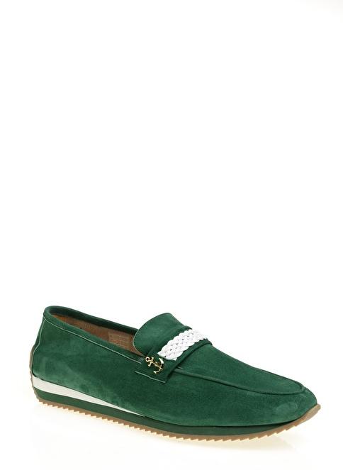 Daffari Loafer Ayakkabı Yeşil